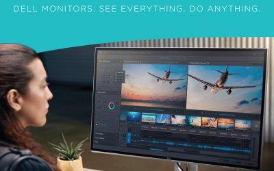 Innovative & Award-winning monitors presented by Dell